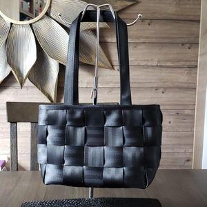 Harveys seatbelt bags, Medium tote, vintage, black